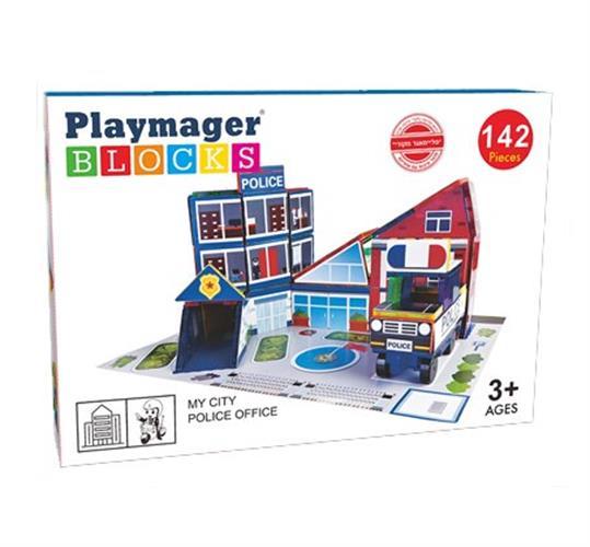 Playmager תחנת משטרה 142 יחידות