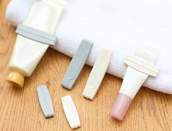 3 יחידות סוחט משחת שיניים