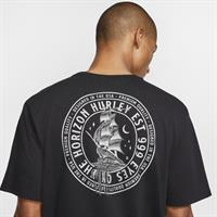 HURLEY Dri-Fit OVERBOARD T-SHIRT-BLACK