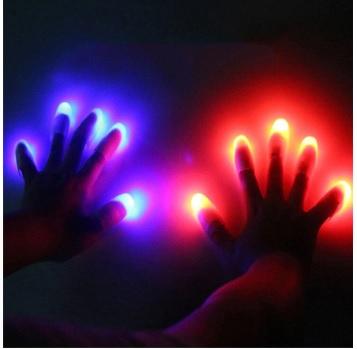 זוג אגודלי קסם תאורת לד משגעים