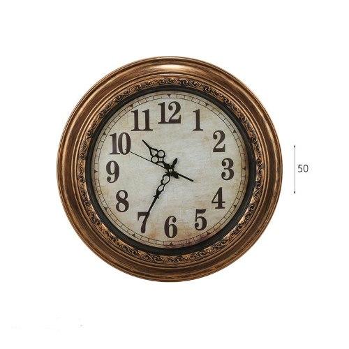 """שעון קיר קוטר 50 ס""""מ"""