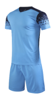 חליפת כדורגל כחול