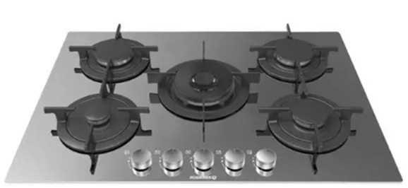 ROSIERES   כיריים ברוחב 75 סמ דגם RGV-75WFMIX