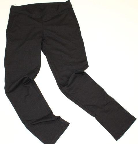 מכנס נשים כיסים חגורה רחבה שחור