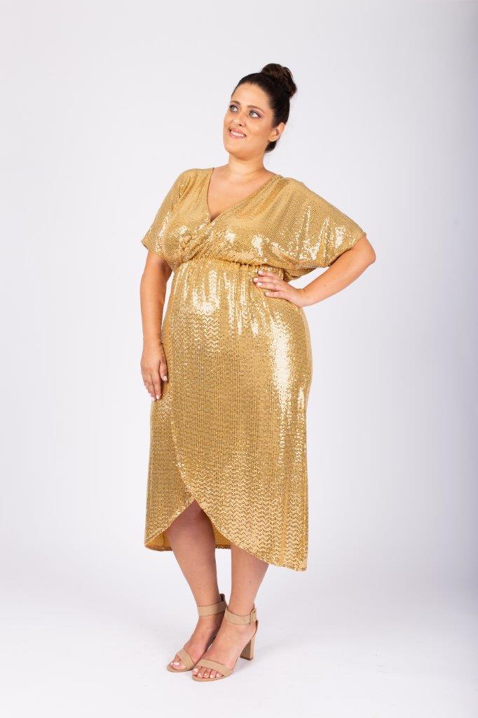 שמלת מיה זהב