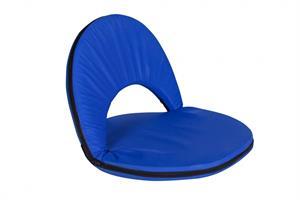 כיסא משענת סטדיום כחול ללא רגליים