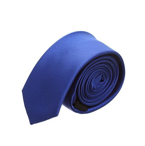 עניבה חלקה כחול רויאל