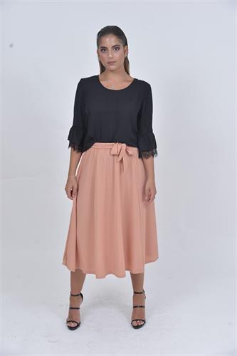 חצאית אפרסק