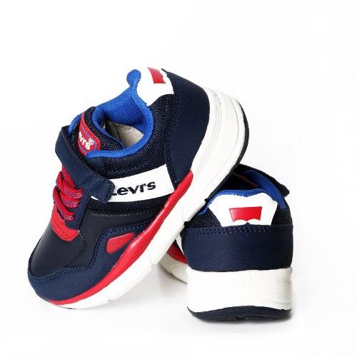 נעלי ספורט כחולות עם סקוצ׳  LEVIS מידות - 24-29