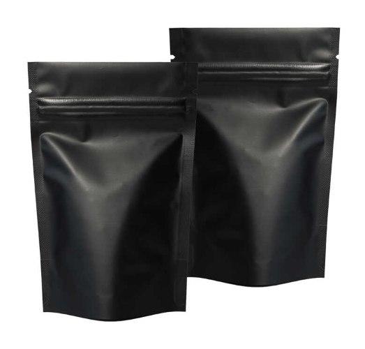 שקית אלומיניום פסגור 15*10 צבע שחור 50 יח