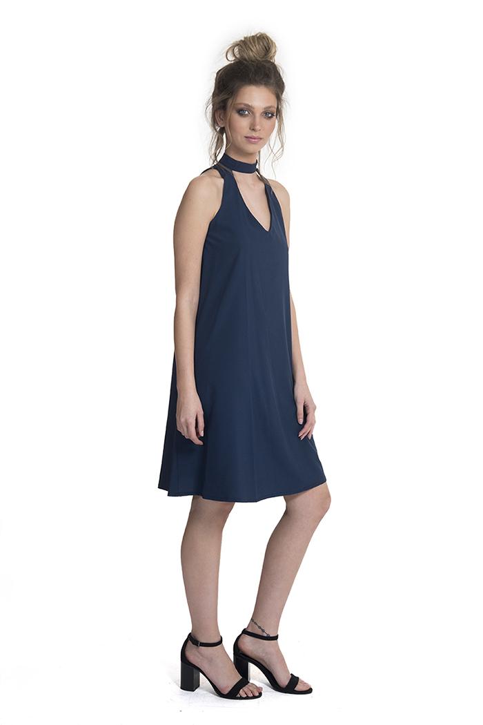שמלה אליסון כחול