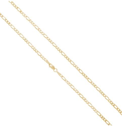 """שרשרת חוליות │שרשרת זהב │ זהב  14K │ שרשרת פיגרו │  פיגרו 2.4 מ""""מ"""