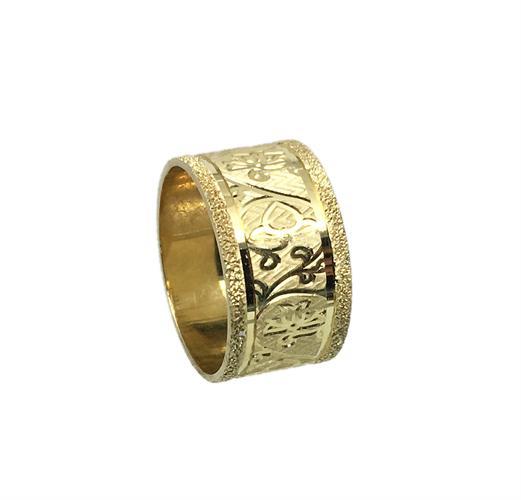 טבעת נישואין נשים זהב 14 קארט MY05170077366