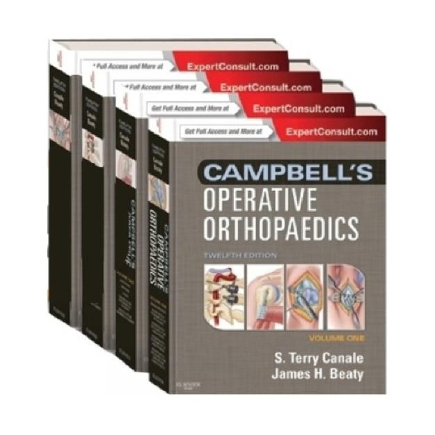 Campbell´s Operative Orthopaedics: 4-Volume Set, 12e