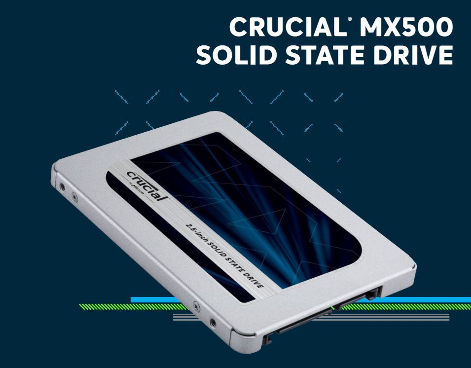 Crucial SSD 500GB MX500 SATA 2.5