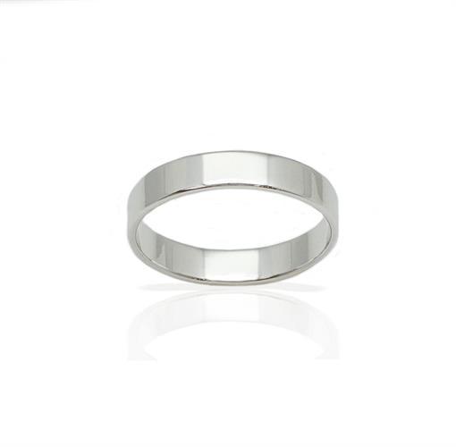 טבעת נישואין קלאסית 4.15 ממ רוחב