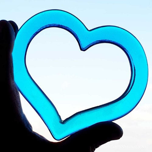 לב חופשי | תבנית מסגרת לב ליצירה בשוקולד | תבנית לב לקישוט עוגה לב איזומלט |  חדש אתי דבש