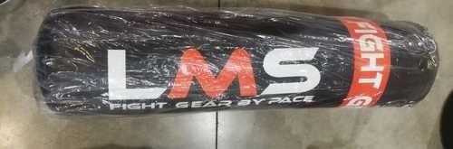 """שק איגרוף 120 ס""""מ עם אביזרים LMS דמוי עור איכותי 35 ק""""ג (סמל כתום) Pace"""