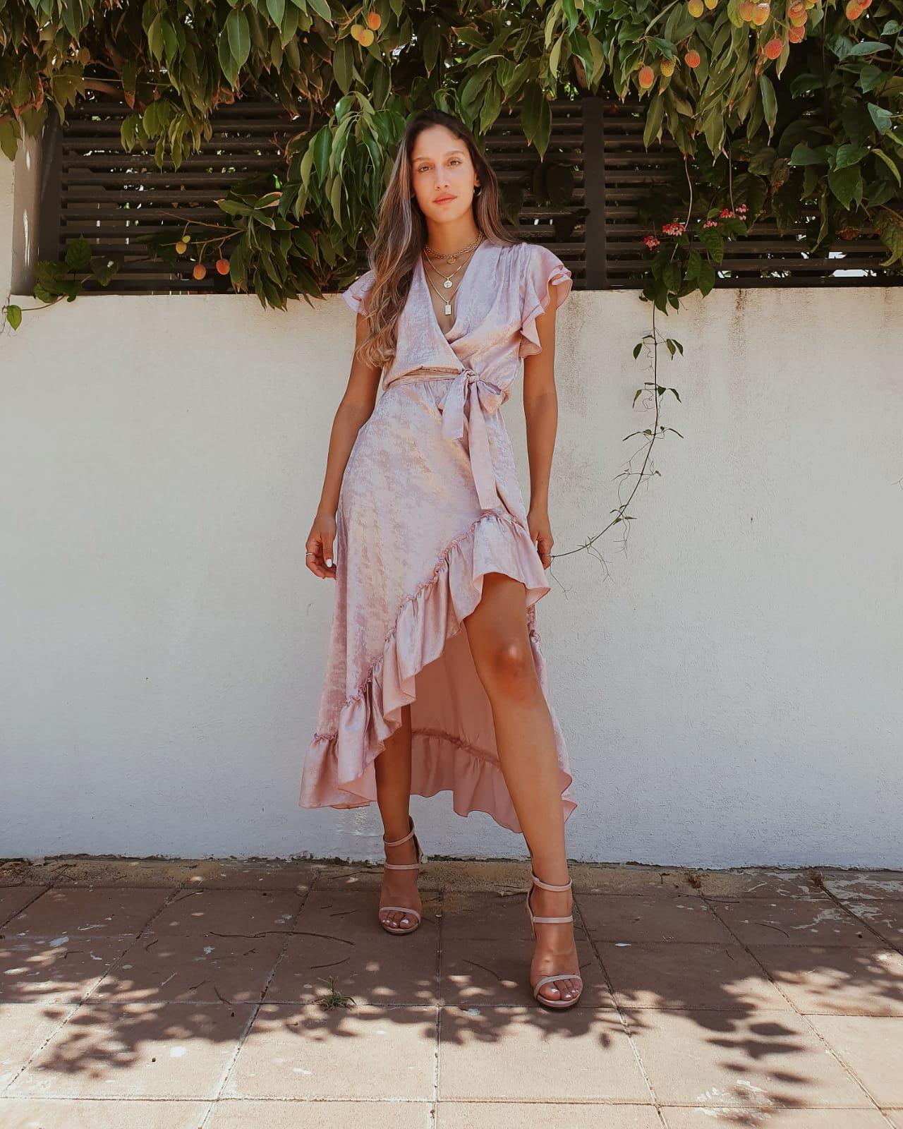 שמלת פנלופי - ורודה