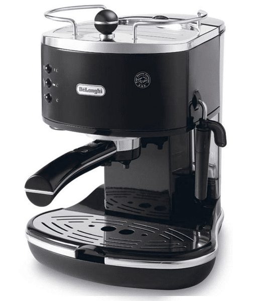מכונת אספרסו וקפוצינו Delonghi דגם Icona ECO311 שחור