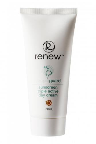 Renew Propioguard Sunscreen Triple Active Day Cream - קרם יום טריפל אפקט עם מסנני קרינה לעור שמן