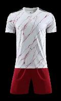 תלבושת הדמייה אדום לבן  ארסנל (לוגו+ ספונסר שלכם)