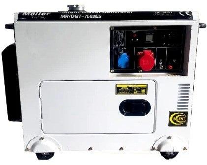 גנרטור דיזל שקט 7500W תלת פאזי Moller Germany