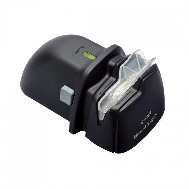 משחיז סכינים חשמלי קומפקטי לסכינים קרמיות ומתכת של Kyocera