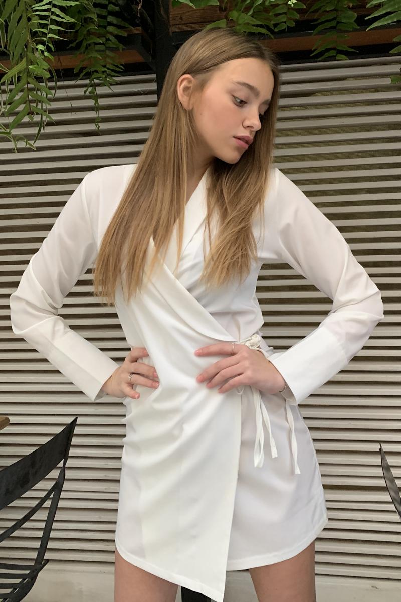 שמלת אלכסה מעטפת