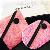 CHANEL FLOWER - TEXTURE STAMP