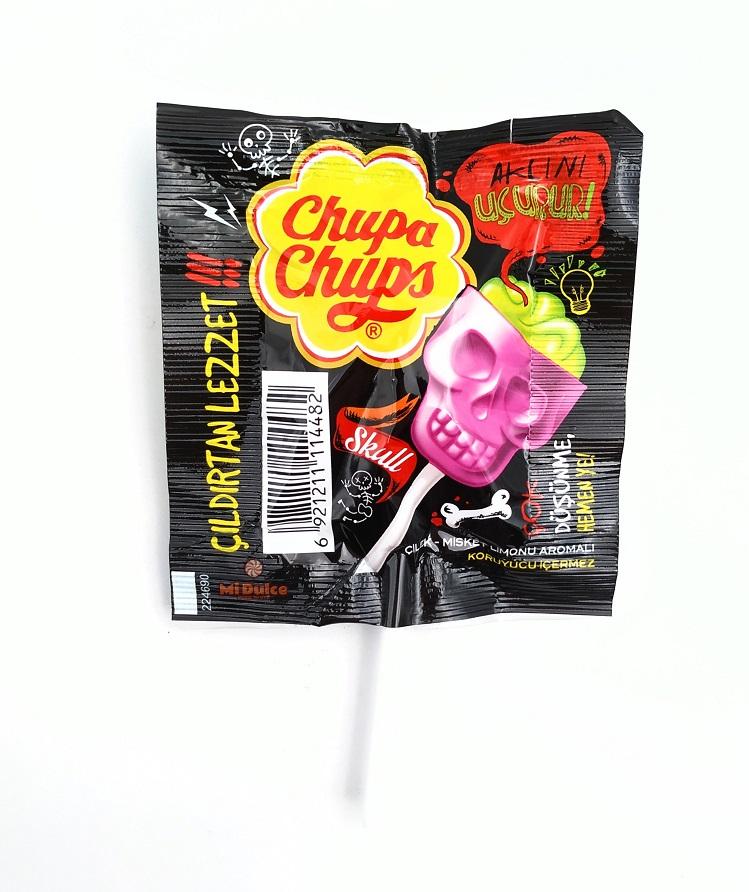 Chupa Chups Fizzy Skull