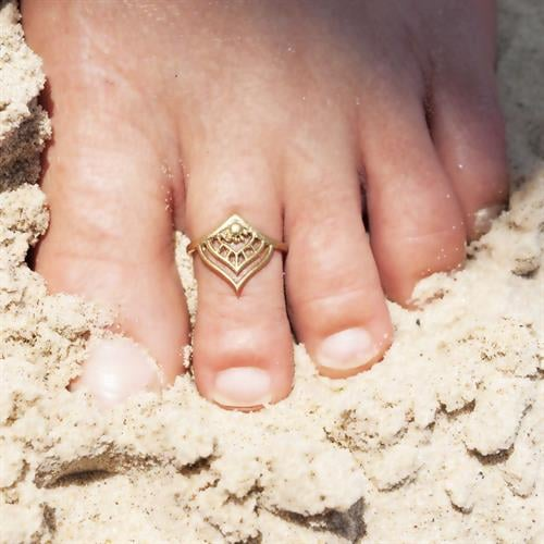 טבעת רגל מאנו בראס