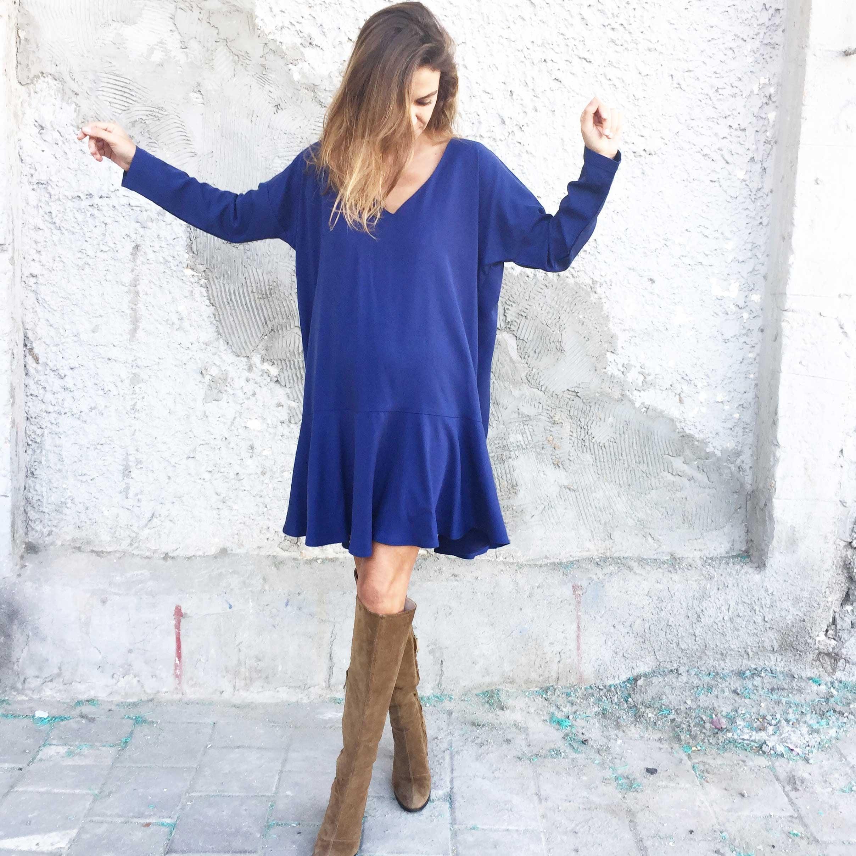 שמלת סיארה כחולה