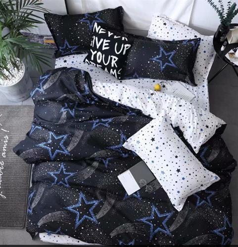 סט מלא זוגי דגם כוכבים בשמיים