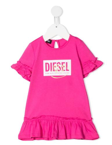 שמלת בייבי DIESEL ורודה - 3-36 חודשים