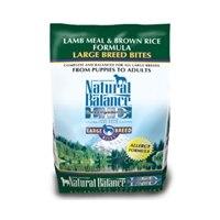 נטורל באלנס כבש ואורז חום לכלבים גדולים13.6 קילו  Natural Balance Lamb Meal & Brown Rice Big Breed
