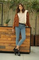 ג'ינס סקיני בייסיק ג'וני סיומת תפר