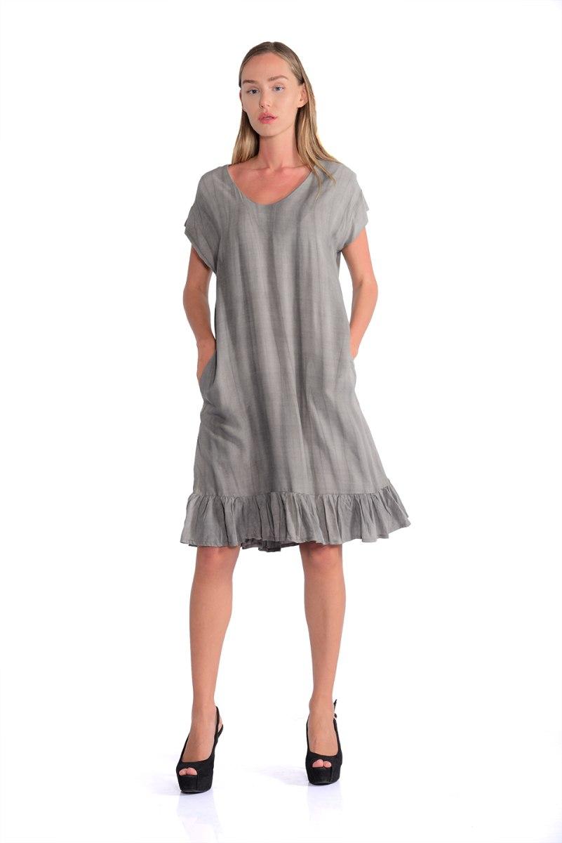 שמלה סאמי אפור בהיר