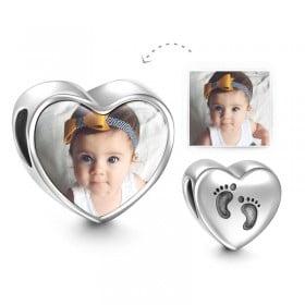 צ'ארמ לב עם תמונה - ילדים