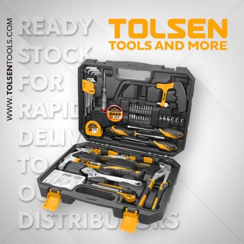 סט כלים 119 חלקים| TOLSEN