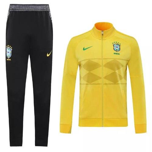 אימונית ברזיל צהובה עם רוכסן 2020