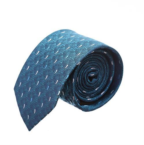 עניבה פייזלי טורקיז משולב
