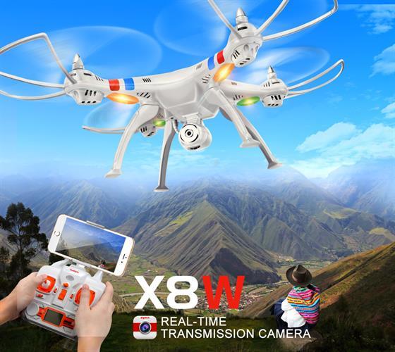 רחפן SYMA X8 2.4G 4CH מקצועי ב3 דגמים לבחירה Wifi Real-time Transmit FPV