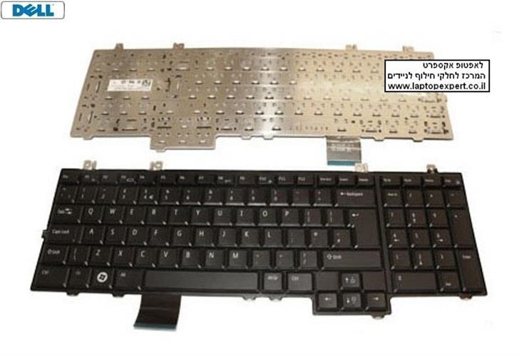 החלפת מקלדת למחשב נייד דל DELL studio 1735 / 1737 Keyboard NSK-DD001
