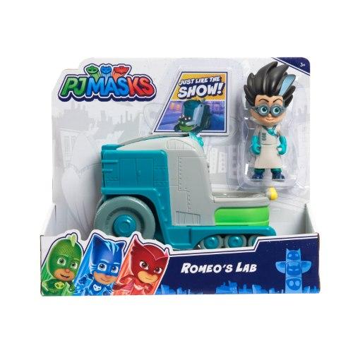 כוח פיג'יי רכב המעבדה של רומיאו כולל דמות