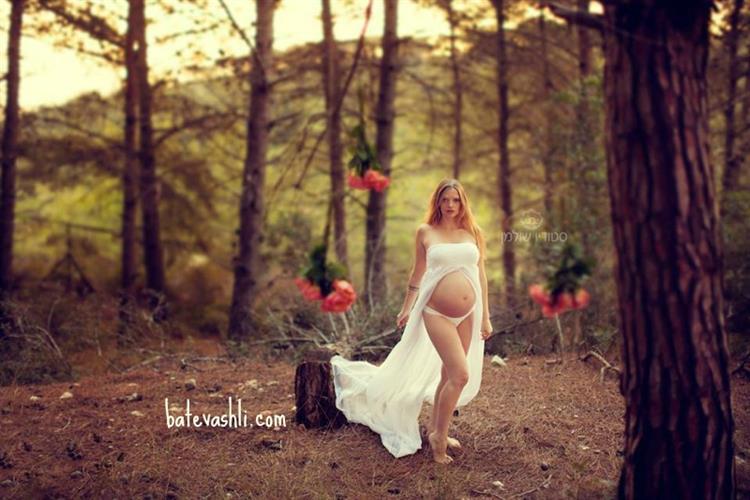שובר עיסוי מתנה לאישה בהריון