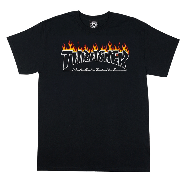 THRASHER SCORCHED OUTLINE