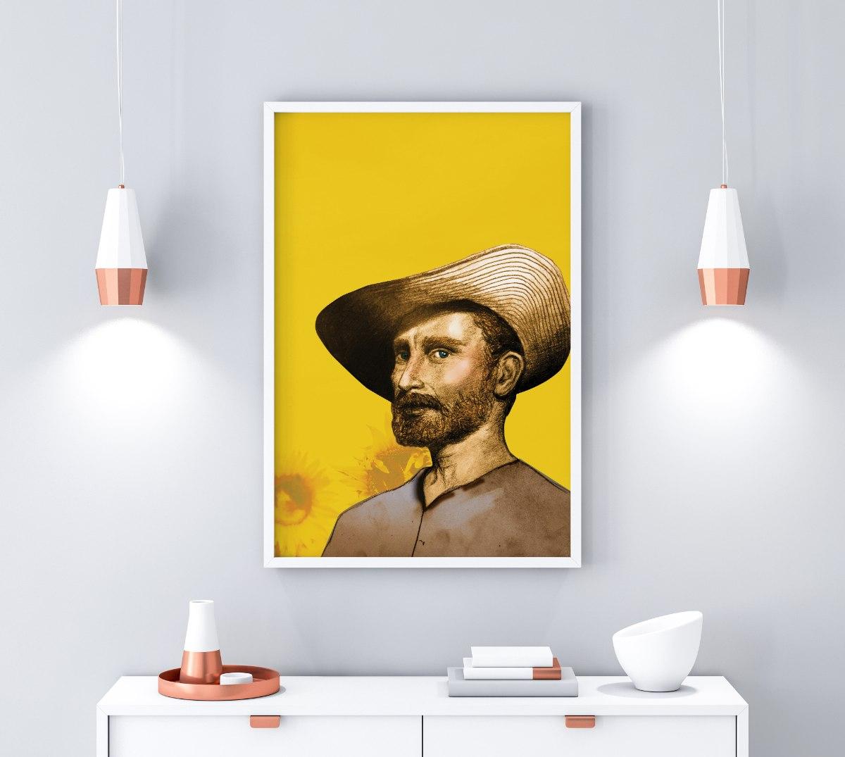 הדפס ציור ואן גוך
