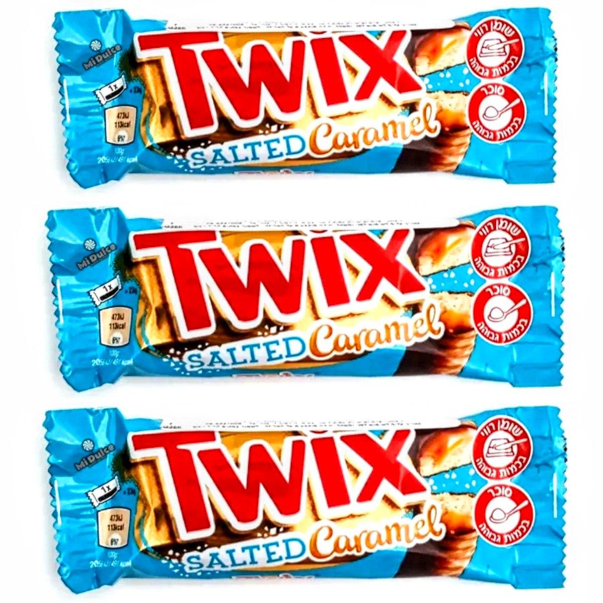 Twix Salted Caramel,שלישייה!