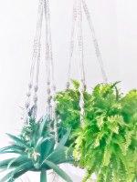 מבחר מתלי מקרמה לעציצים במבחר דוגמאות וצבעים